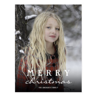 Personalized Christmas Postcards with Photos