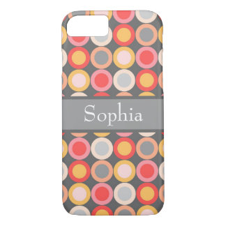 Personalized Circles iPhone 7 Case