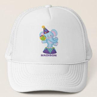 Personalized  Circus Elephant Baseball Cap