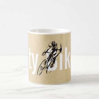 Personalized City Bicycle Shop Coffee Mug