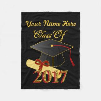 Personalized Class of 2017 Fleece Blanket