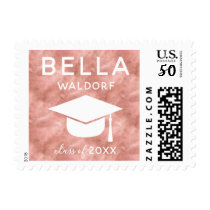 Personalized Class of 2018 Graduation Stamps Rose