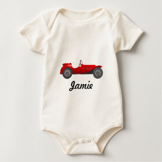 Personalized Classic Car Gifts Baby Bodysuit