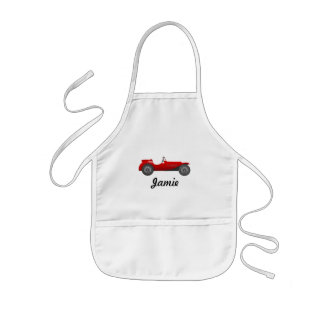 Personalized Classic Car Gifts Kids' Apron