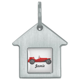 Personalized Classic Car Gifts Pet Name Tag
