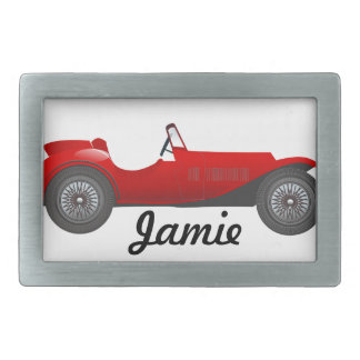 Personalized Classic Car Gifts Rectangular Belt Buckle