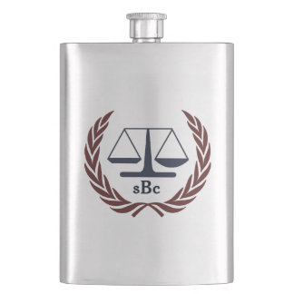 Personalized Classic Flask for Attorney Lawyer