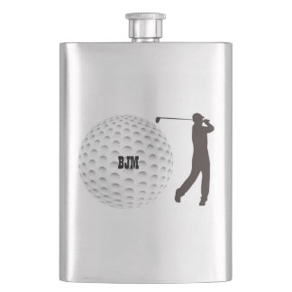 Personalized Classic Flask For Golfers