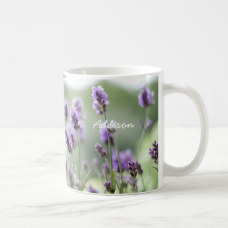 Personalized Classic Mug With Lavender
