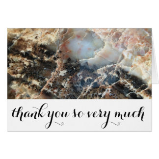 Personalized Classic Thank You Card