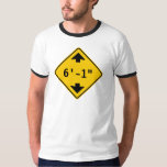 Personalized Clearance Height Highway Sign Shirts