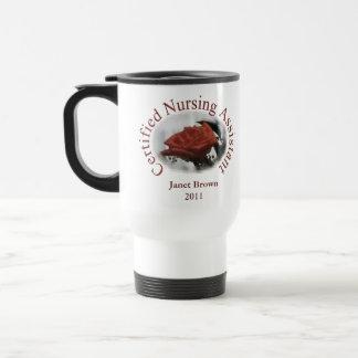 Personalized CNA Travel Mug