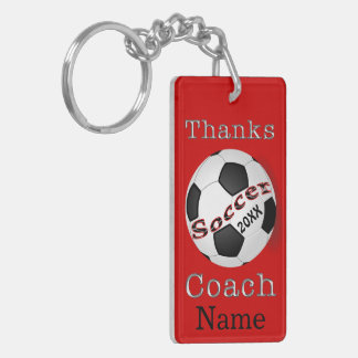 Personalized Coaches Gifts Soccer, Soccer Keychain