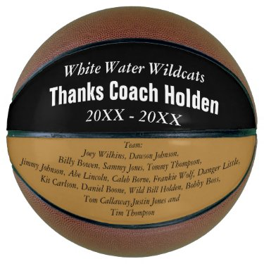Personalize a regulation basketball with your message.