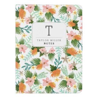 Personalized | Coastline Floral Extra Large Moleskine Notebook