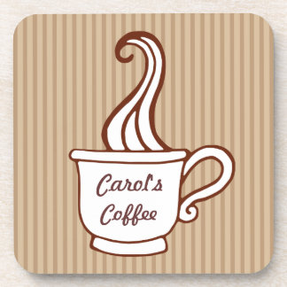 Personalized Coffee Cup Coasters