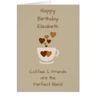 Coffee Birthday Greeting Cards Zazzle