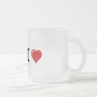 Personalized Coffee Mug Hot Beverage Mug Frosted