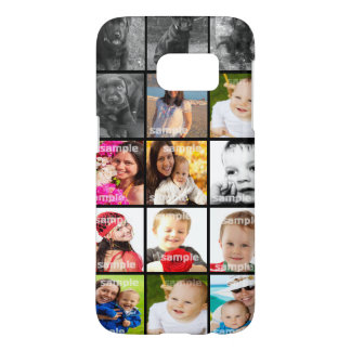 Personalized Collage Make Your Own Samsung Galaxy S7 Case