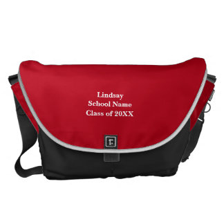 Personalized College Bound Messenger Bag