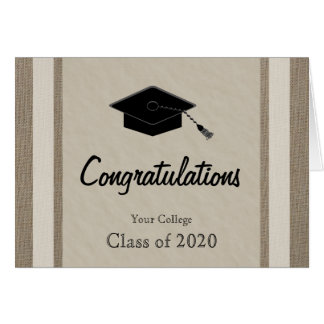 Personalized College Graduation Card