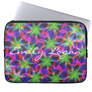 Personalized Color Abstract Laptop Sleeve 13 inch