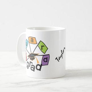 Personalized Color Guard Graduate Graduation Coffee Mug