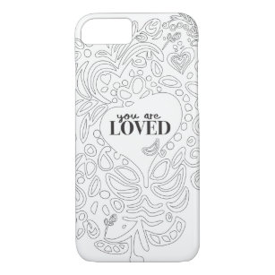 coloring page iphone cases covers zazzle coloring page iphone cases covers