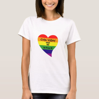 (personalized) community says no to prop 8/women's T-Shirt