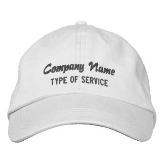 Personalized Company Basic Adjustable Cap