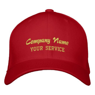 Personalized Company Basic Flexfit Wool Cap Embroidered Hat