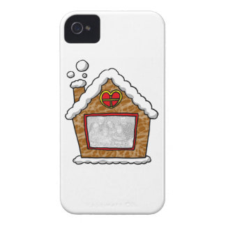 Personalized cookie house Christmas iPhone 4 Case-Mate Case