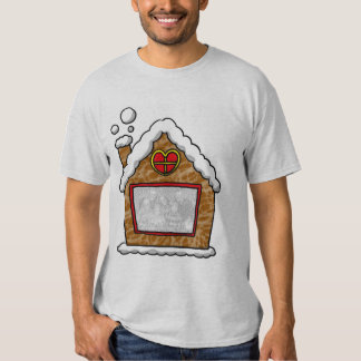 Personalized cookie house Christmas T-Shirt