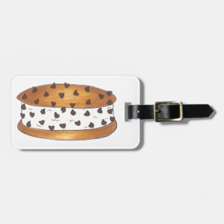 Personalized Cookie Ice Cream Sandwich Bag Tag