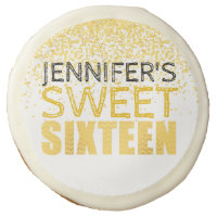 Personalized Cookies Sweet Sixteen Party Favor