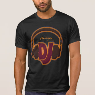personalized cool DJ tee