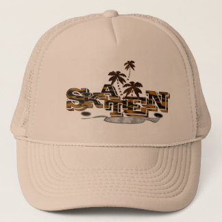 Personalized cool skateboard cap with emblem