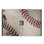 Personalized Cool Vintage Grunge Baseball iPad Air Case