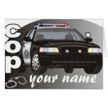 Personalized Cop Card