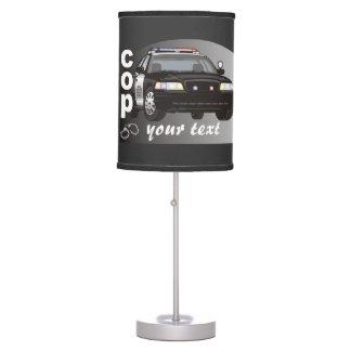 Personalized Cop Desk Lamp