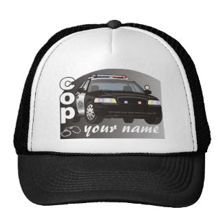 Personalized Cop Hats