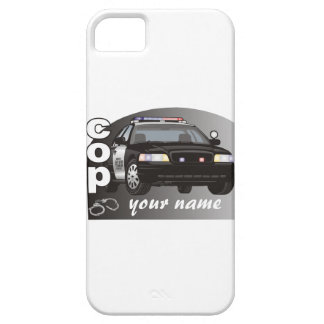 Personalized Cop iPhone SE/5/5s Case