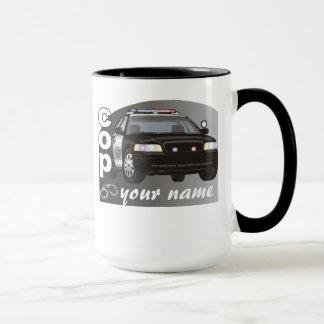 Personalized Cop Mug