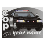 Personalized Cop Posters