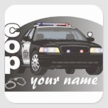Personalized Cop Sticker