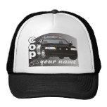 Personalized Cop Trucker Hat