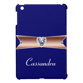 Personalized Copper Diamond iPad MiniCase Cover For The iPad Mini