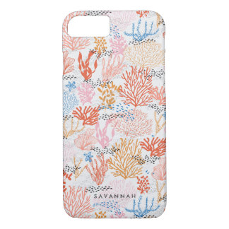 Personalized   Coral Reef iPhone 7 Case