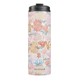 Personalized | Coral Reef Thermal Tumbler