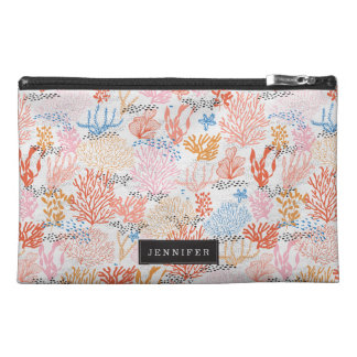 Personalized   Coral Reef Travel Accessory Bags